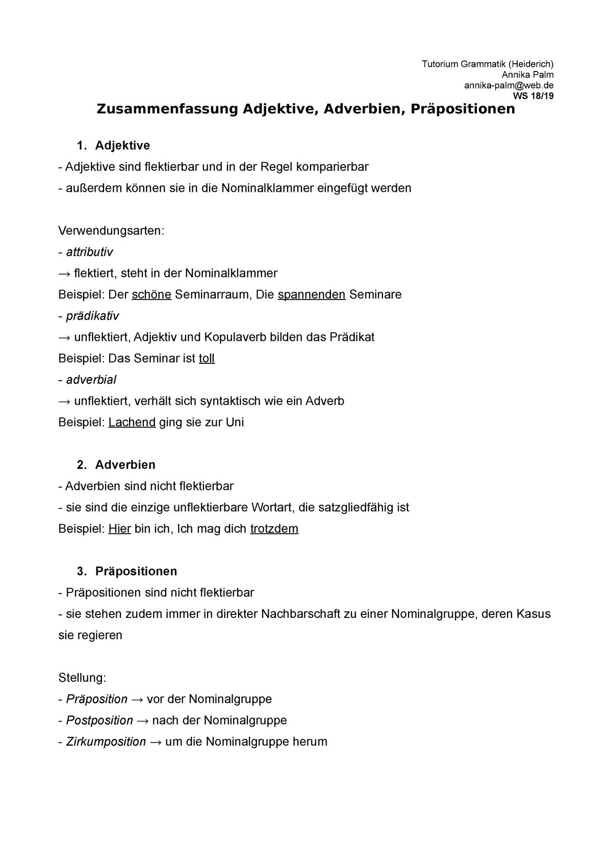 German Conjunctions Learn German German Grammar 9
