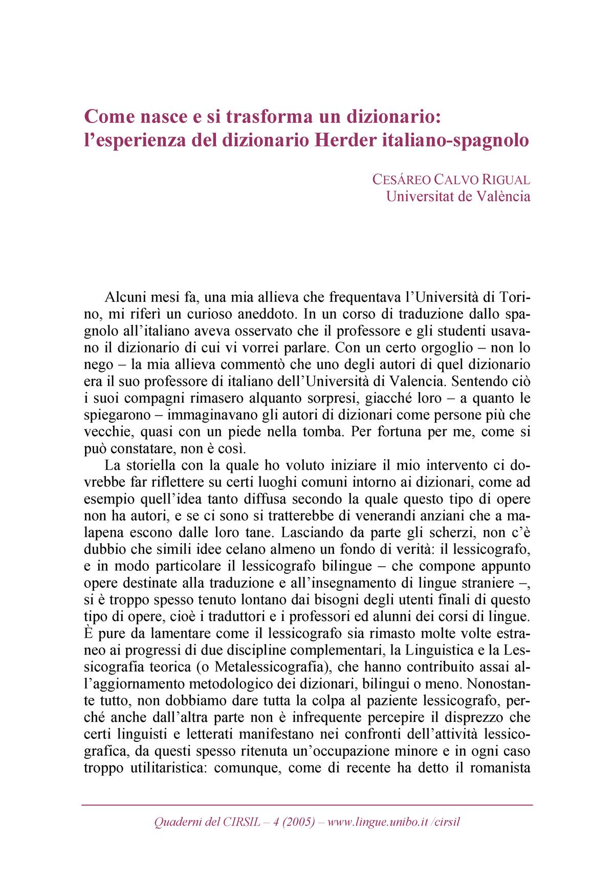 Come Nasce E Si Trasforma Un Dizionario 1005969 Unipr