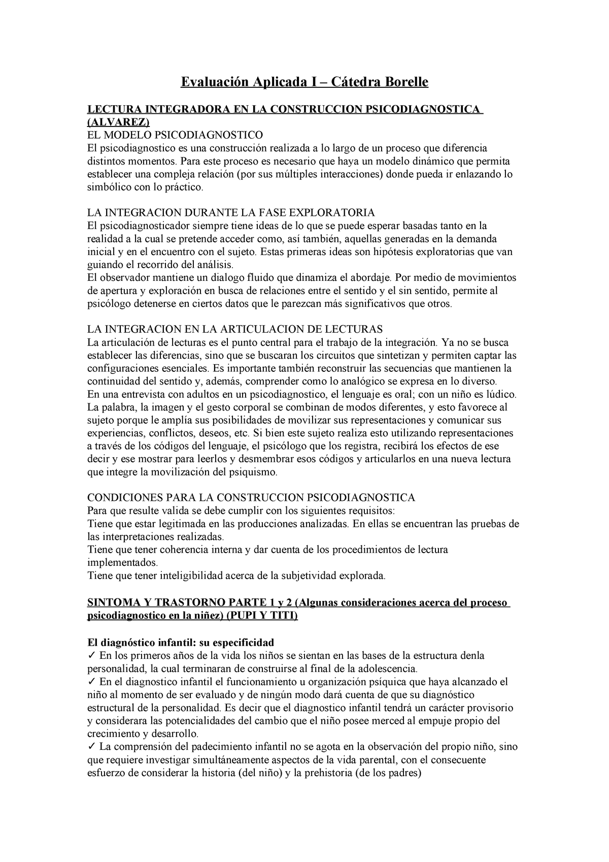 1837e96c02fd Evaluación Aplicada I - Cátedra Borelle - StuDocu