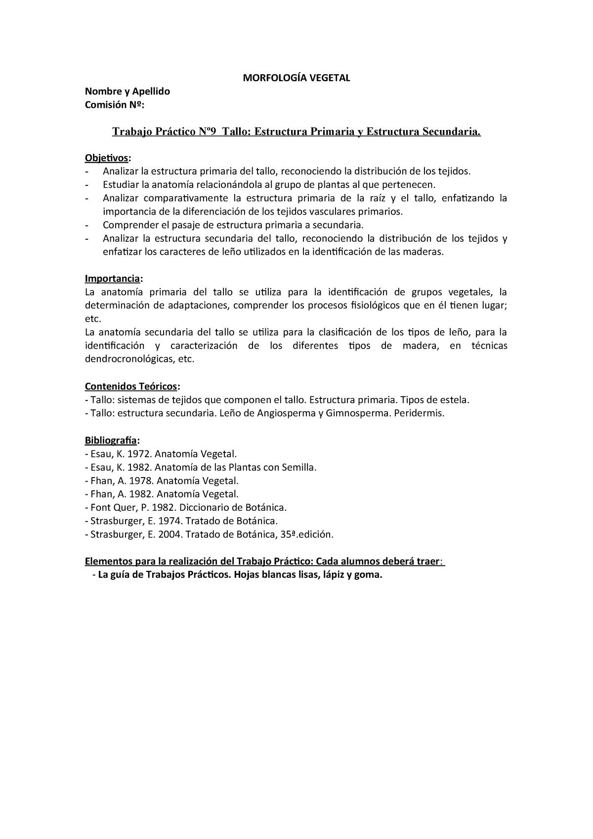 Tpnº 9 Tallo Estruct Pria Y Sria Morfologia Vegetal 06