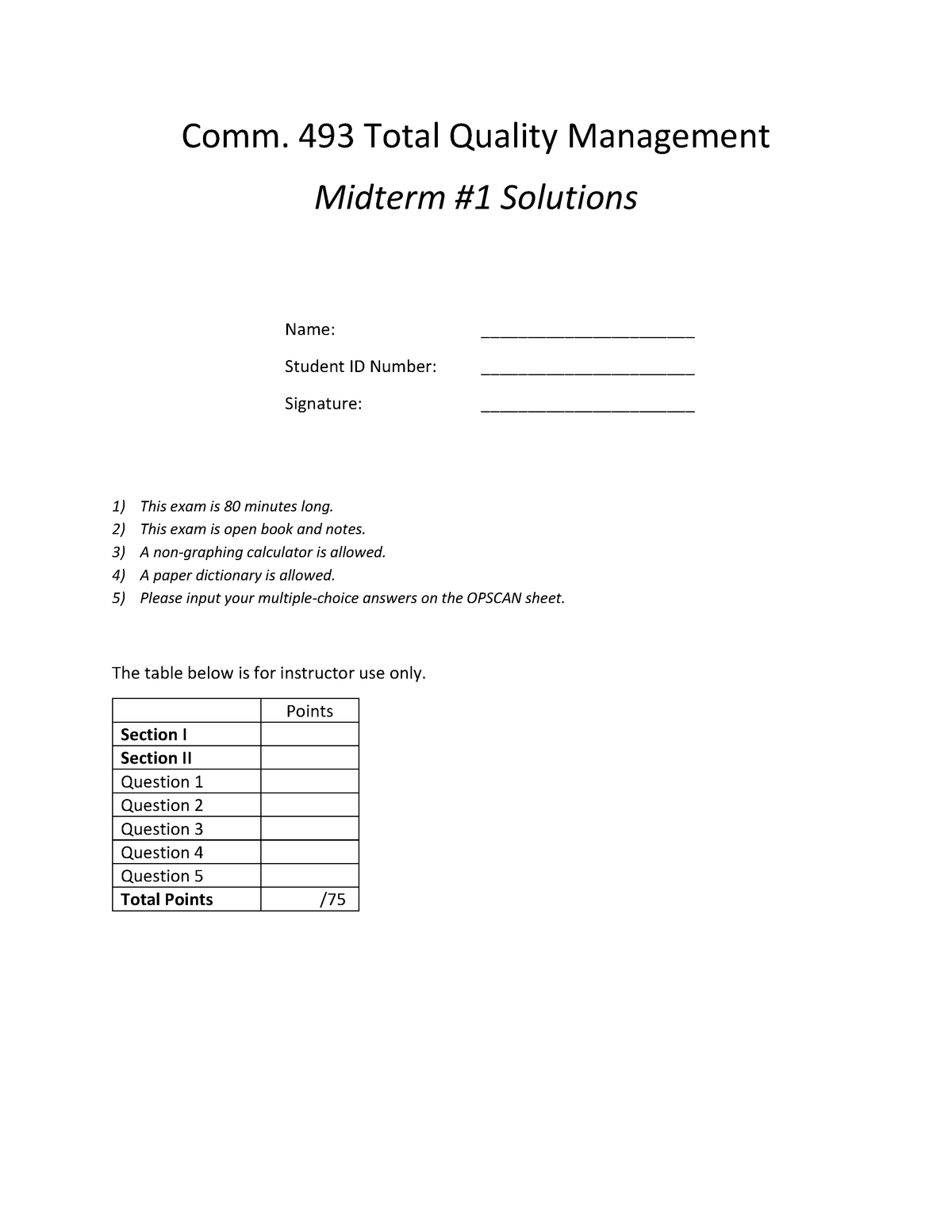 Exam 3 February 2016, questions and answers - Comm 493 3