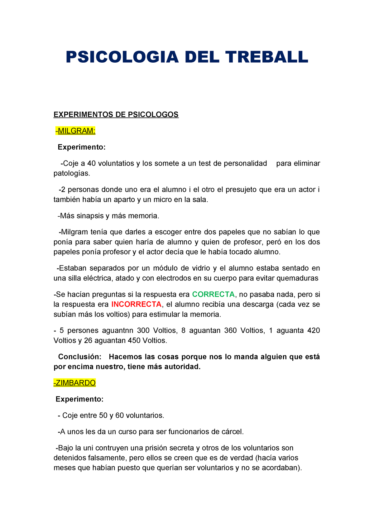 Psicologia Psicología Del Sicología Trabajo Studocu Treball WerBdxCo