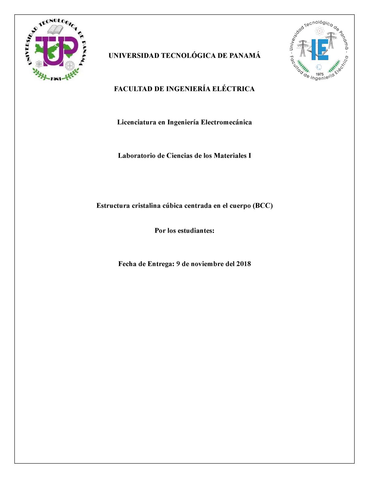 Ciencias I Monografia Estructura Bcc 7897 Utp Studocu