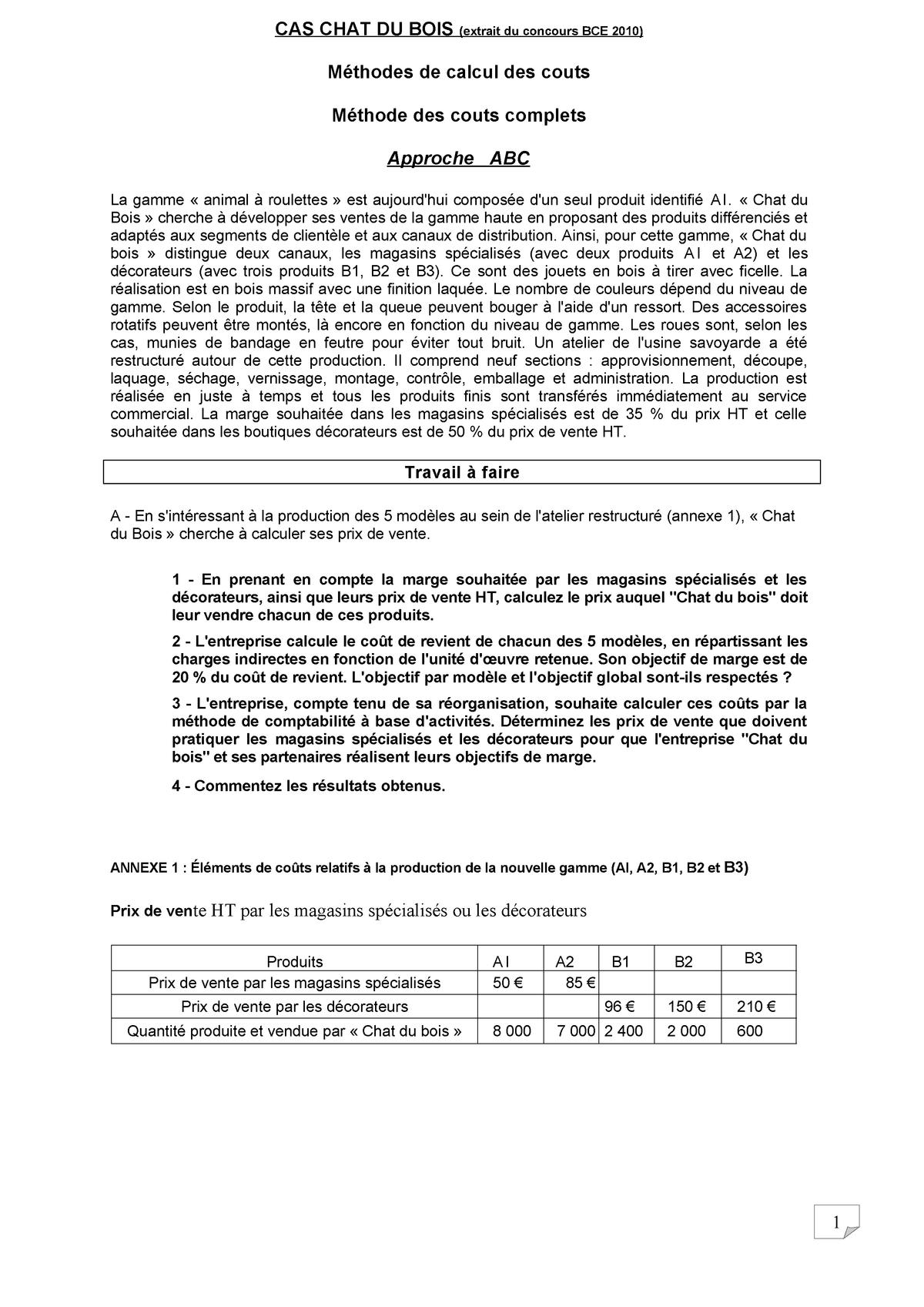 4 Exercice Methode Abc Extrait Du Concours Hec Studocu