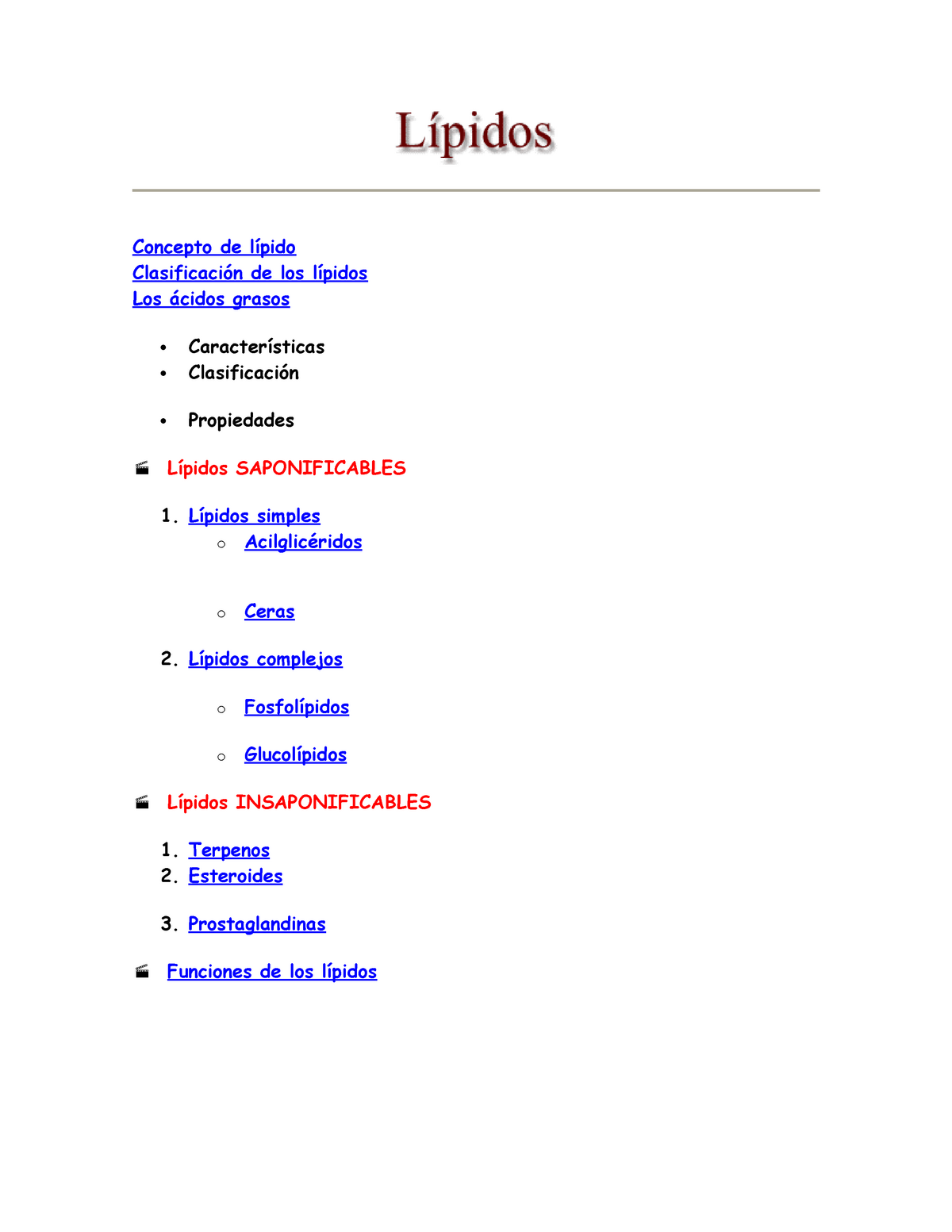7 Lipidos Bioquimica 1 Unica Studocu