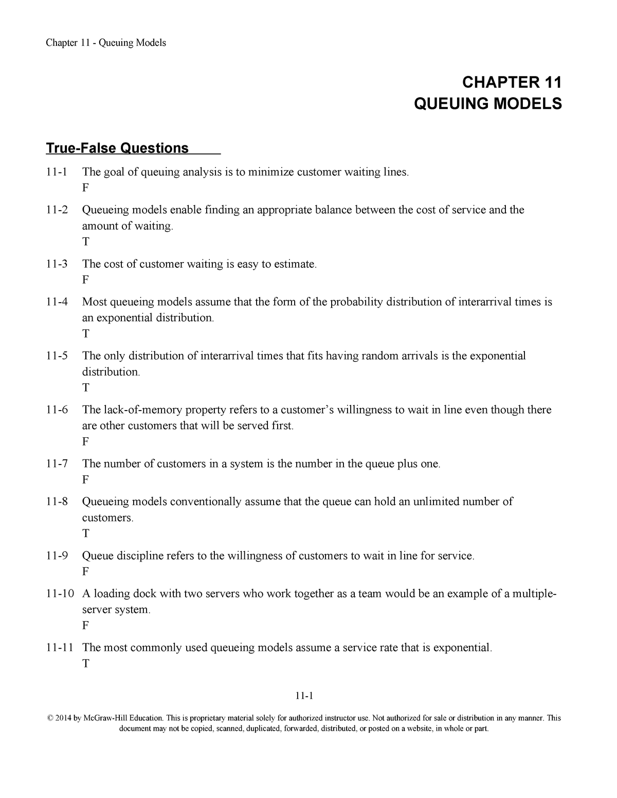 Exam August 1 Autumn 2018, questions and answers - QNT 5160