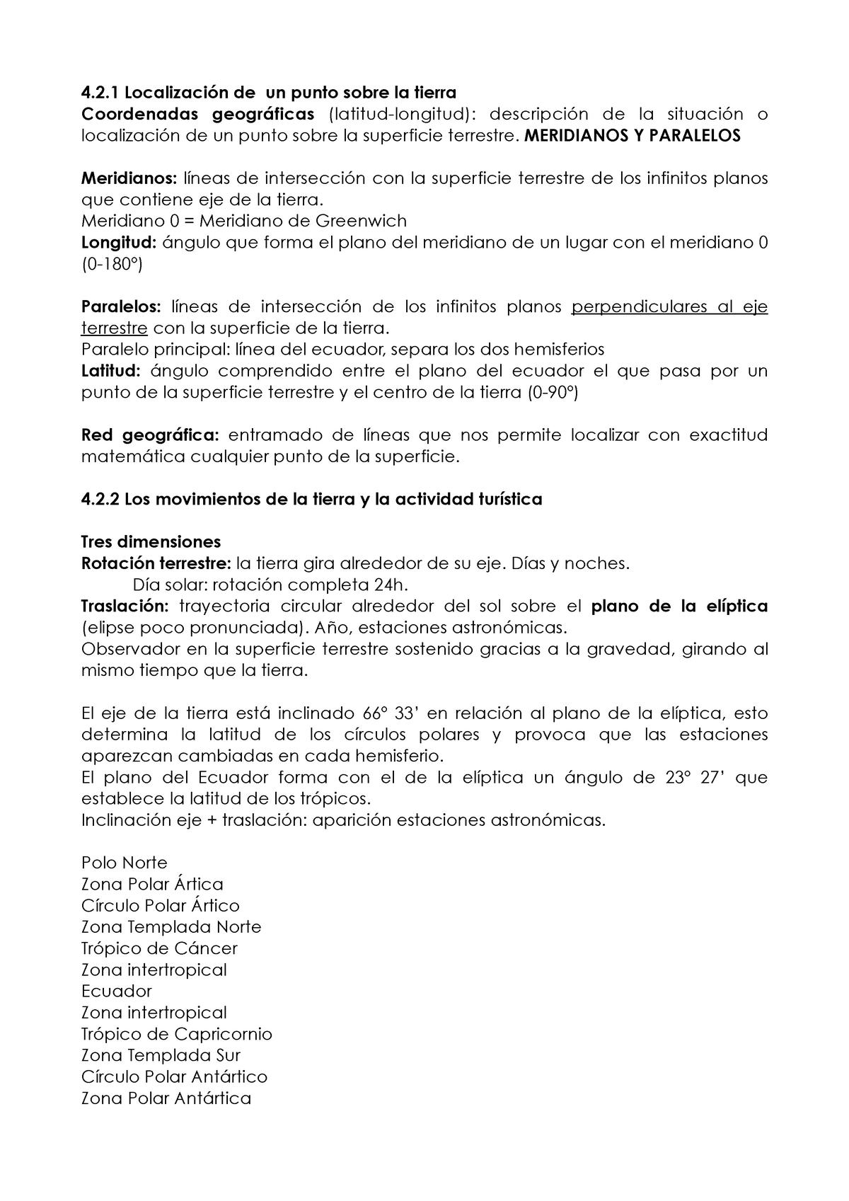 Resumen Tema 4 - Geografia Del Turismo 800004 - StuDocu