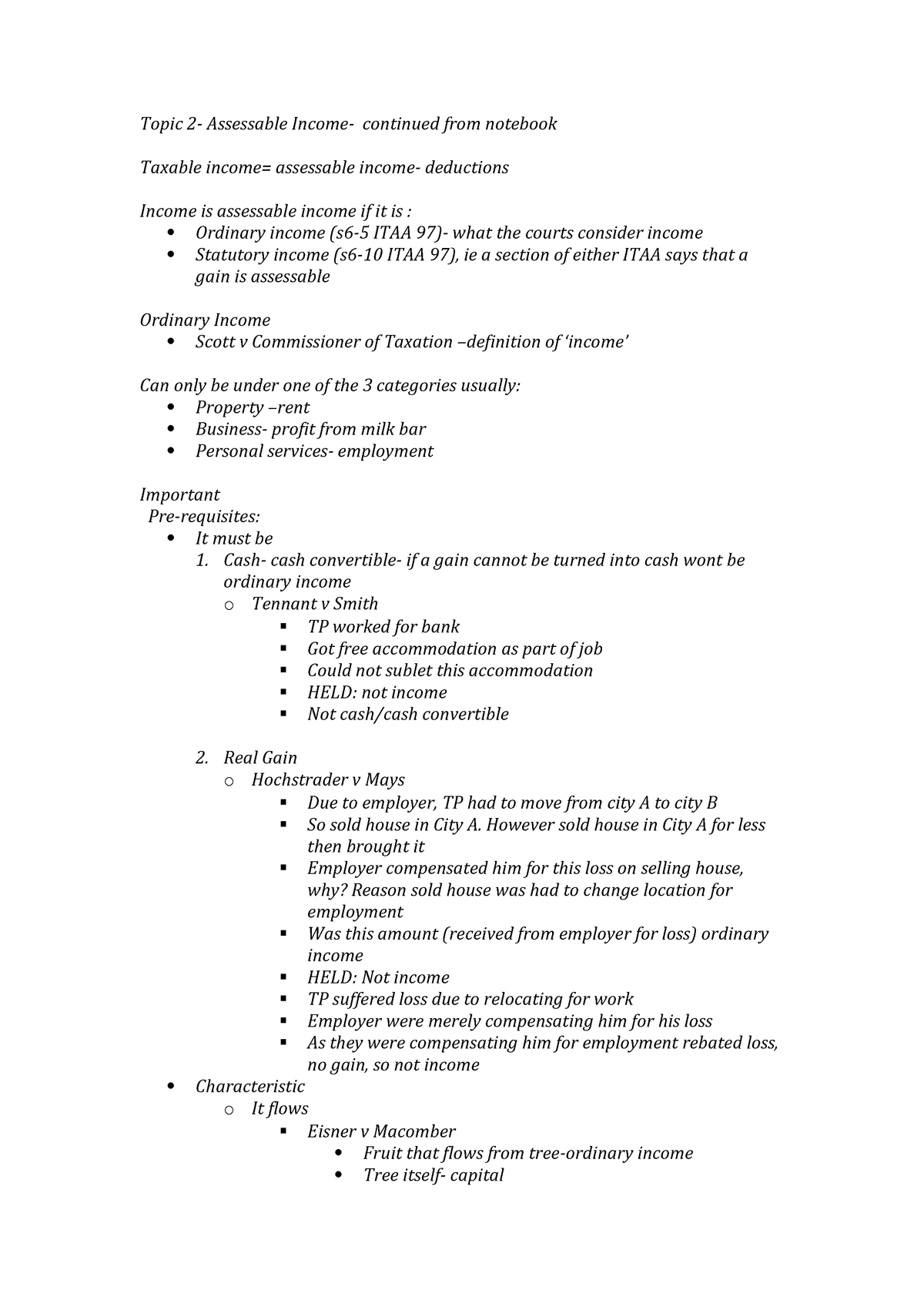 Mlc302 - Lecture notes 2 - MLC301 - Deakin - StuDocu