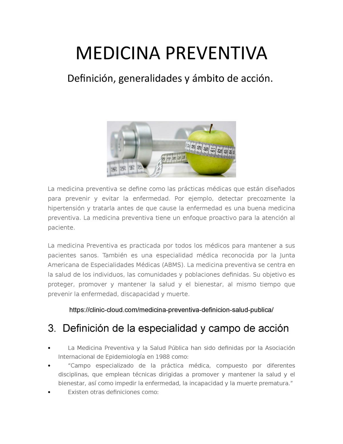 Definición médica de hipertensión