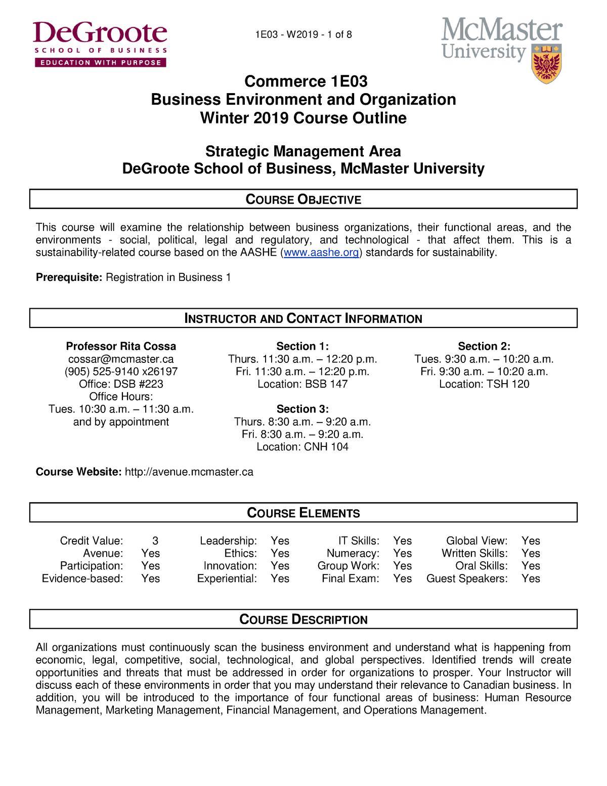 Exam 2019 - 1EO3: Commerce - StuDocu