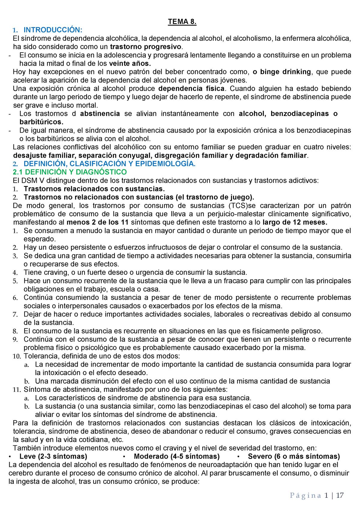 T 8 Apuntes De Barbara Terapia Cognitivo Conductual