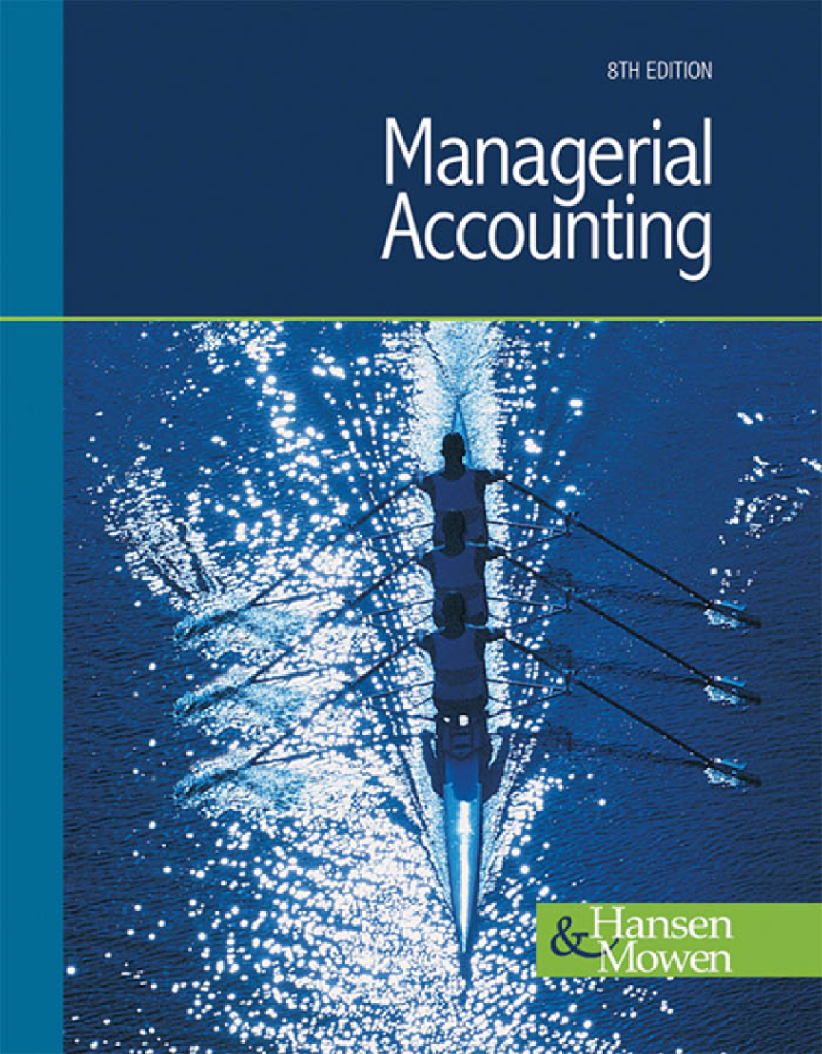 Solution manual management accounting - StuDocu