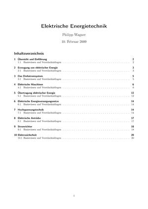 Tutorialaufgaben - Verständnisfragen - 0000002308: Elektrische ...