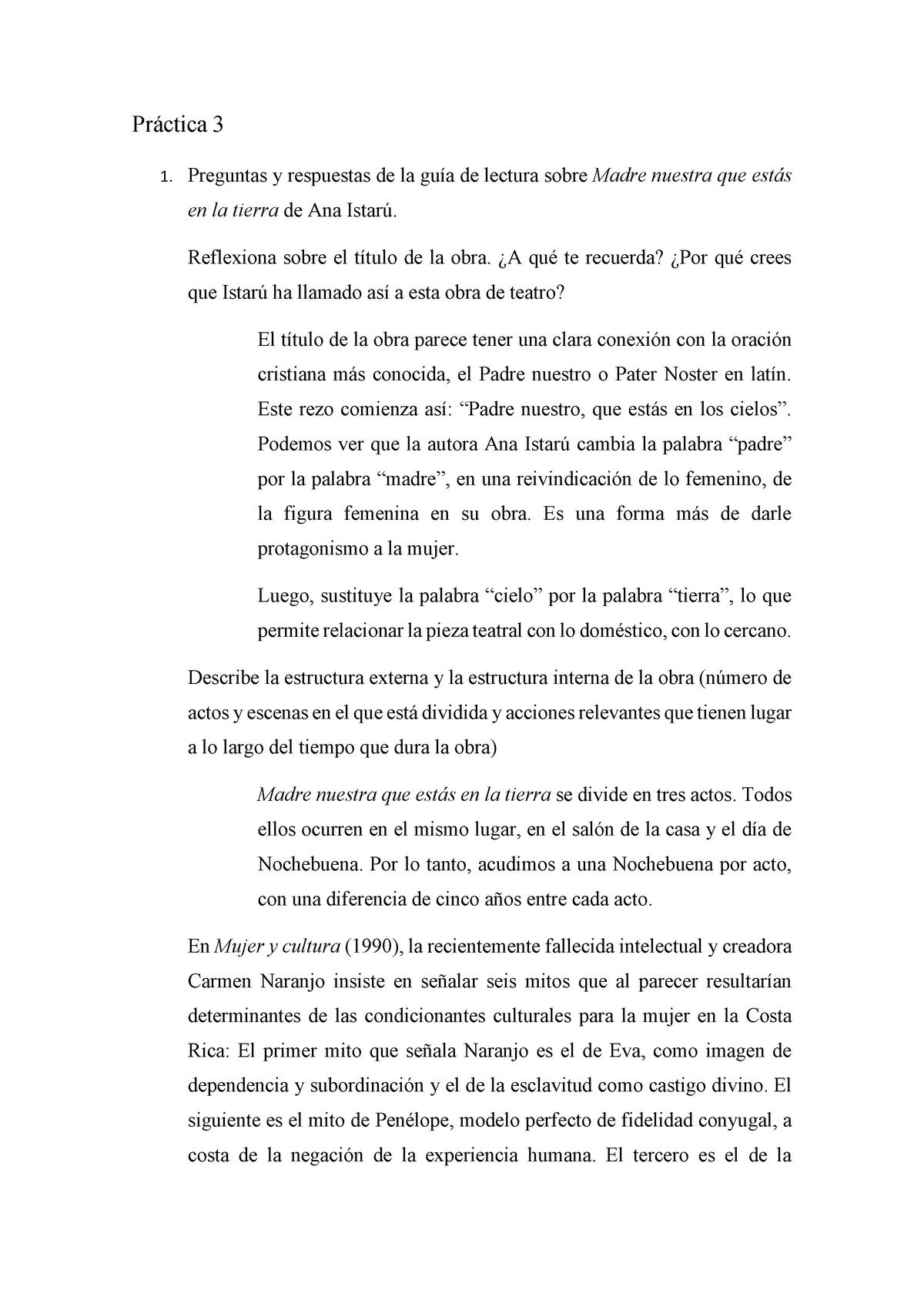 Práctica 3 Literatura Hispanoamericana Contemporánea 602