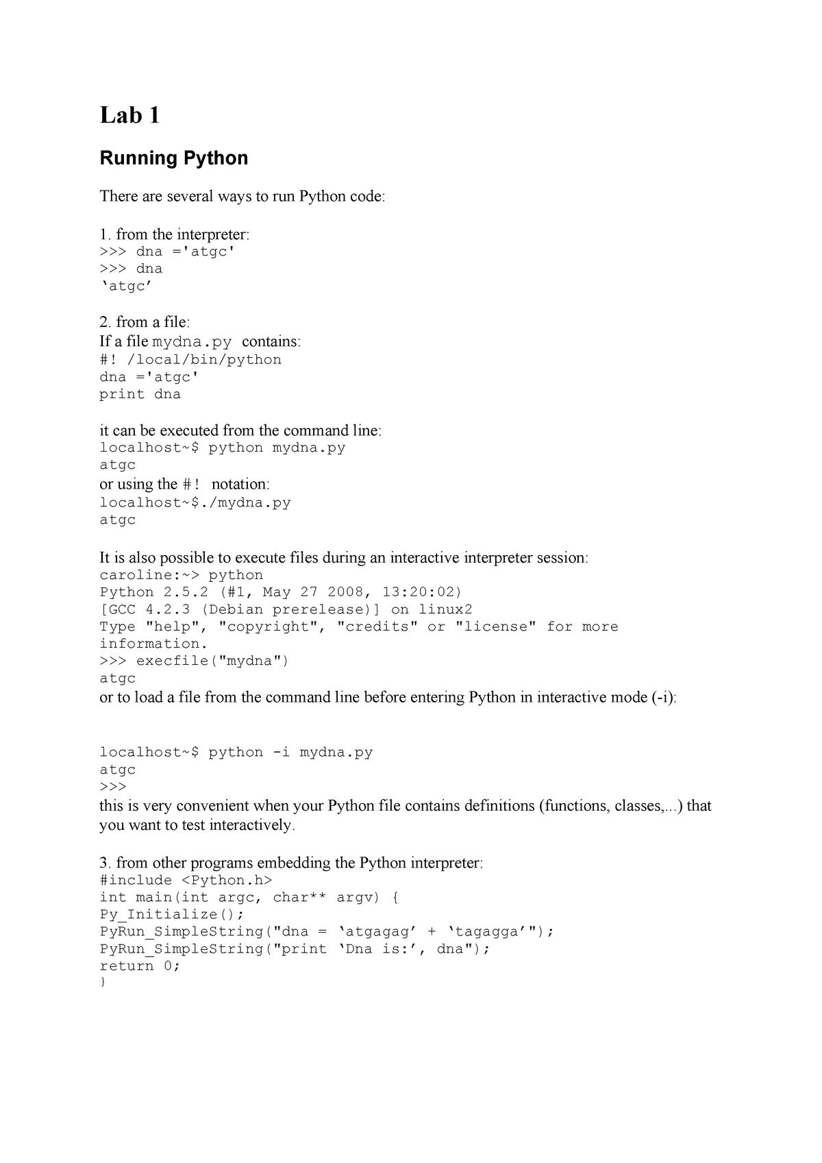 216645 Lab1 student - HPB3011: Bioinformatics Algorithms II