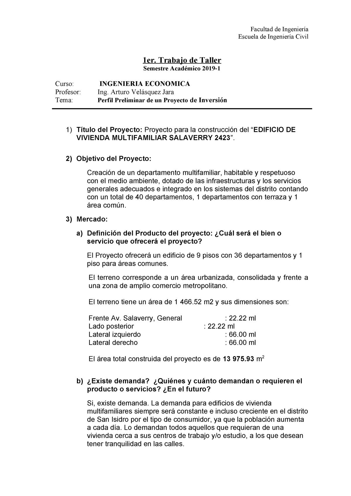 Trabajo Economicas Final Ingeniería Económica Cv 1004