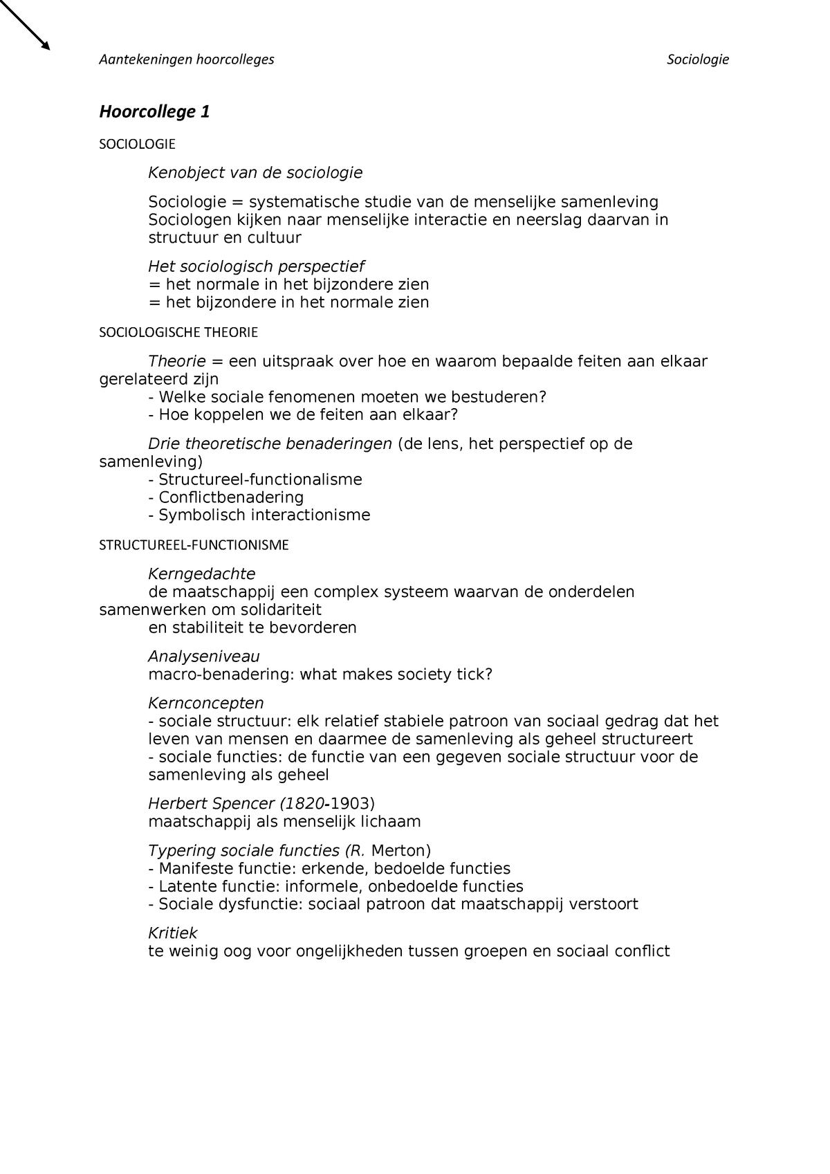 Functies van dating sociologie