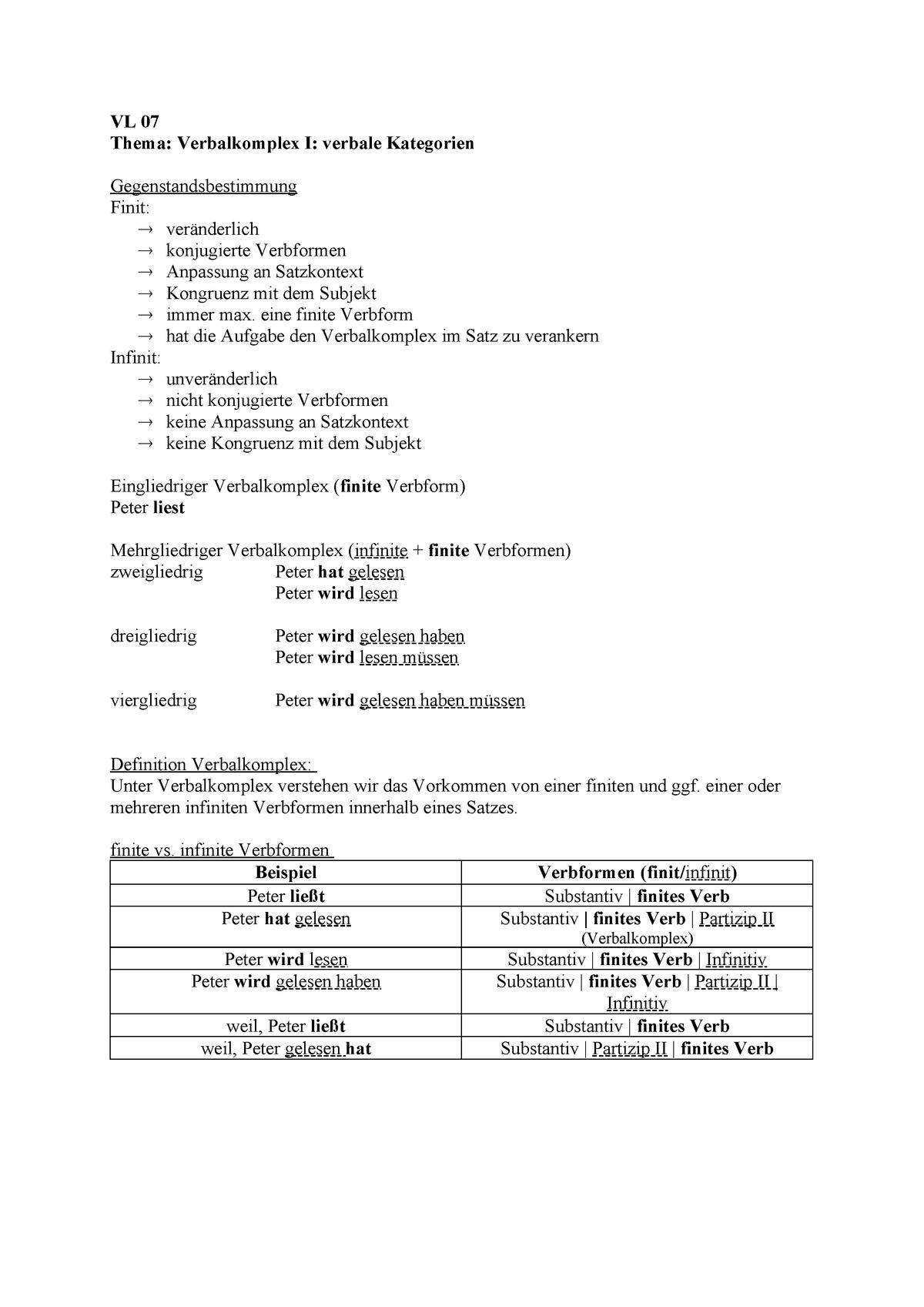 Verb Definition Und Beispiele 9