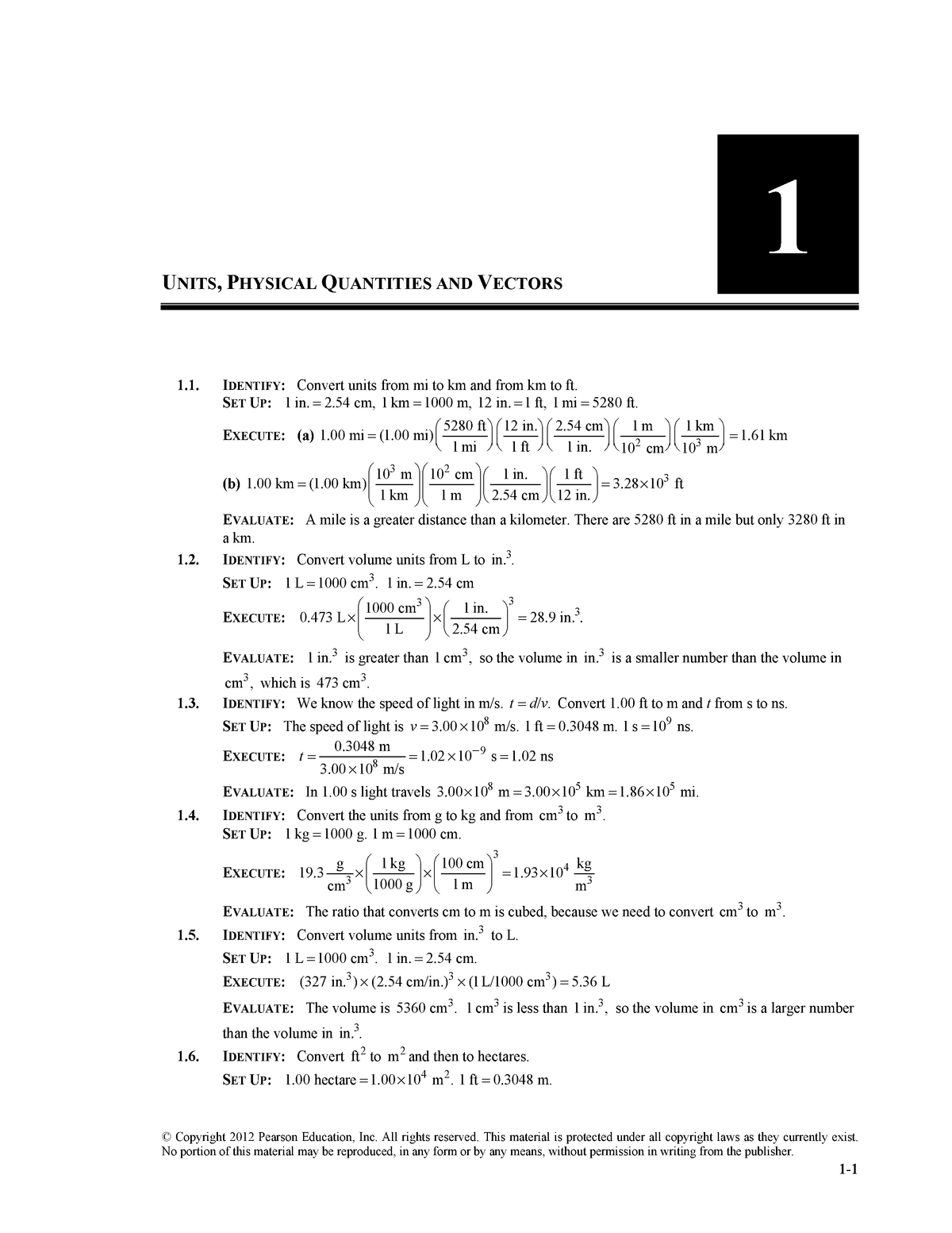 12 Physics Book Volume 1