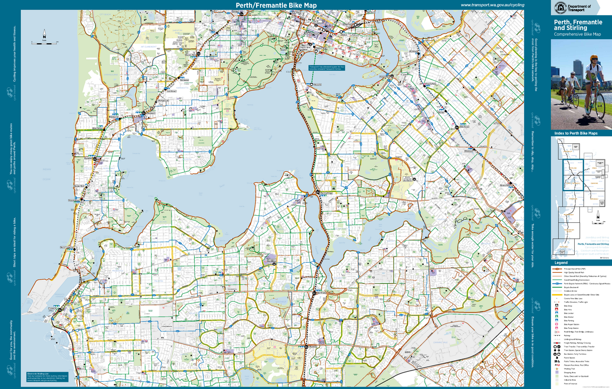 At CYC map Perth Fremantle-Stirling - BUSN71-010: MBA Orientation