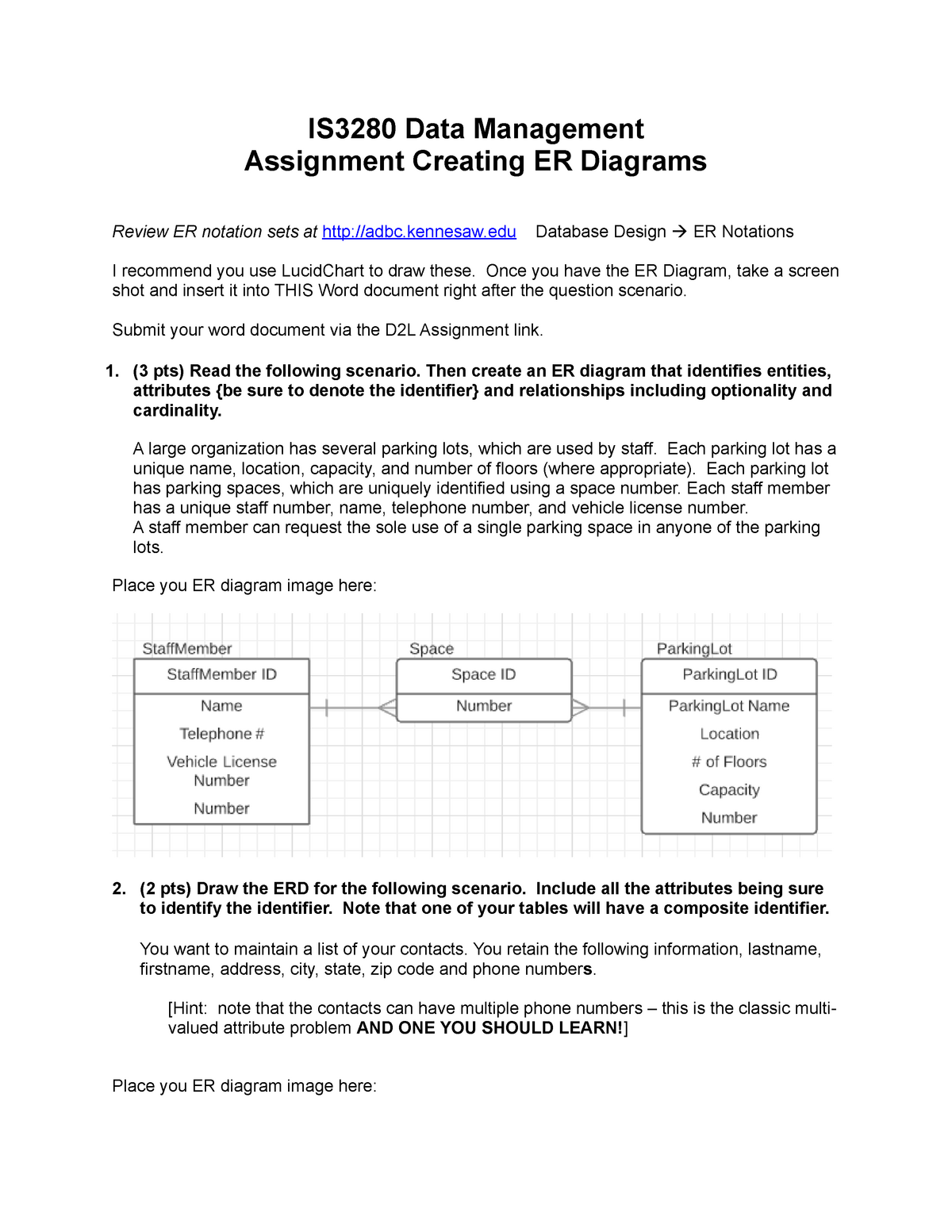 How To Draw Er Diagram In Word - Free Wiring Diagram