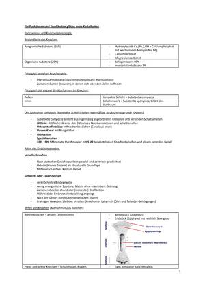 Zusammenfassung Physiologie und funktionelle Anatomie 2 - 0920245404 ...