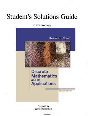 discrete and combinatorial mathematics classic version 5th edition