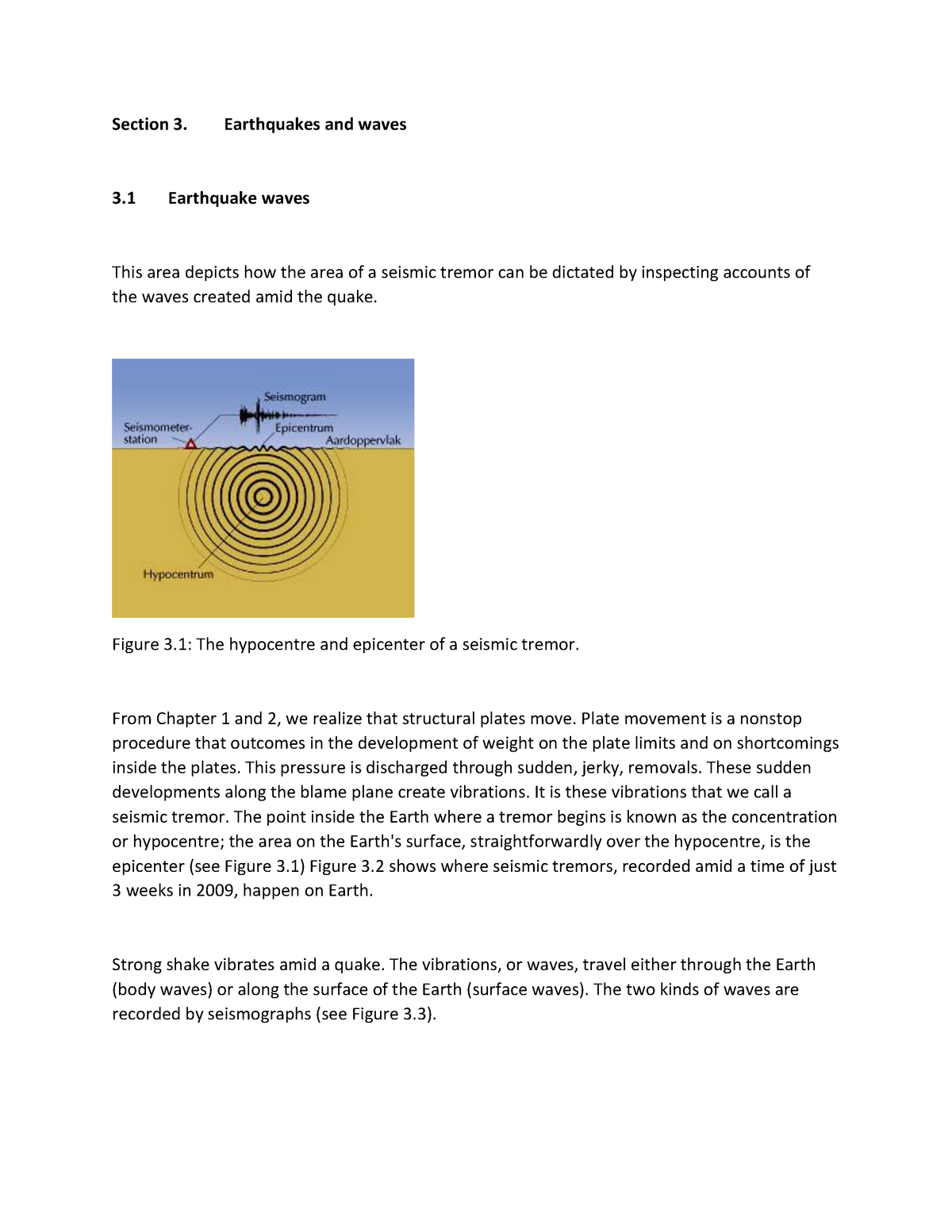 earthquakes and waves - lecture notes 4-5 - glg 111: the dynamic earth -  studocu