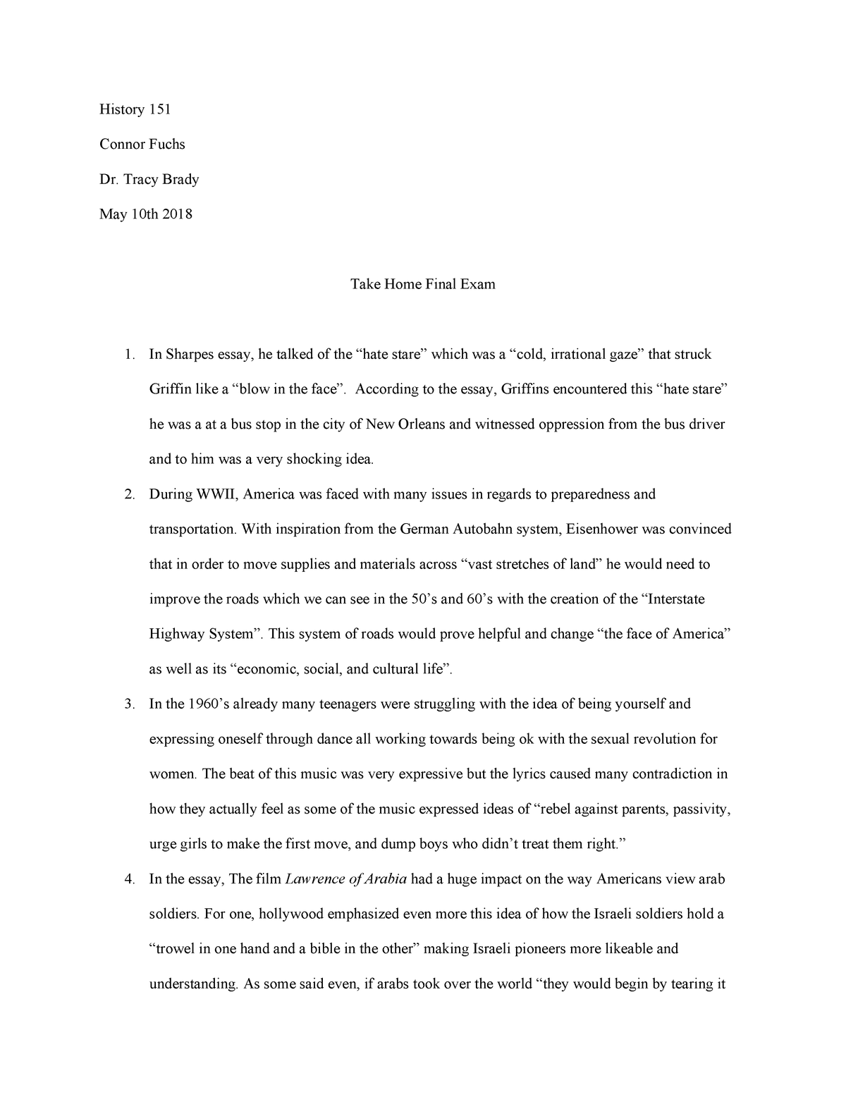 essay on why i love america