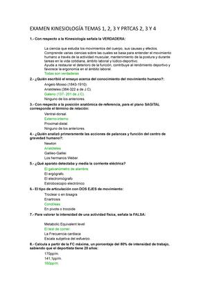 Examen 2013 - 16514: Fisiología Básica y Kinesiología del Movimiento ...
