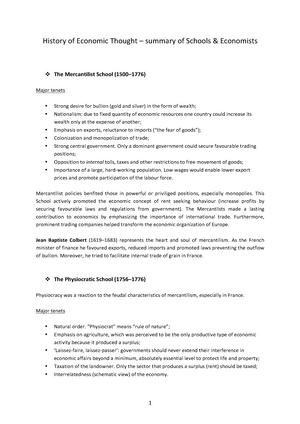 Summary The Evolution of Economic Thought 21 Feb 2015 - StuDocu dc4c4888e38