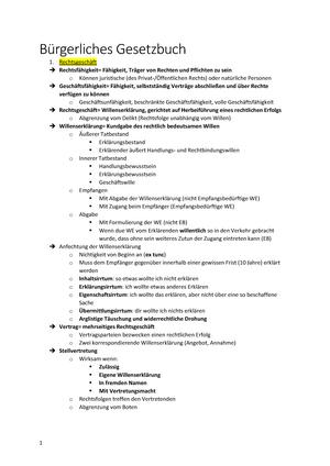 Bürgerliches Gesetzbuch Bgb Für Wirtschaftswissenschaftler