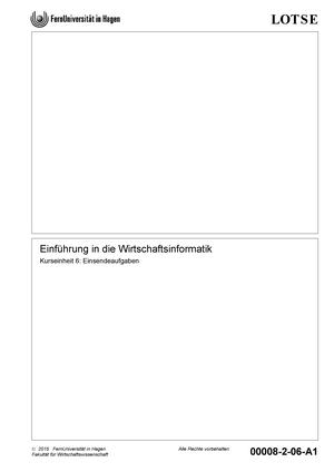 Aufgaben-00008-WS15-6 - 31071: Grundzüge der Wirtschaftsinformatik ...