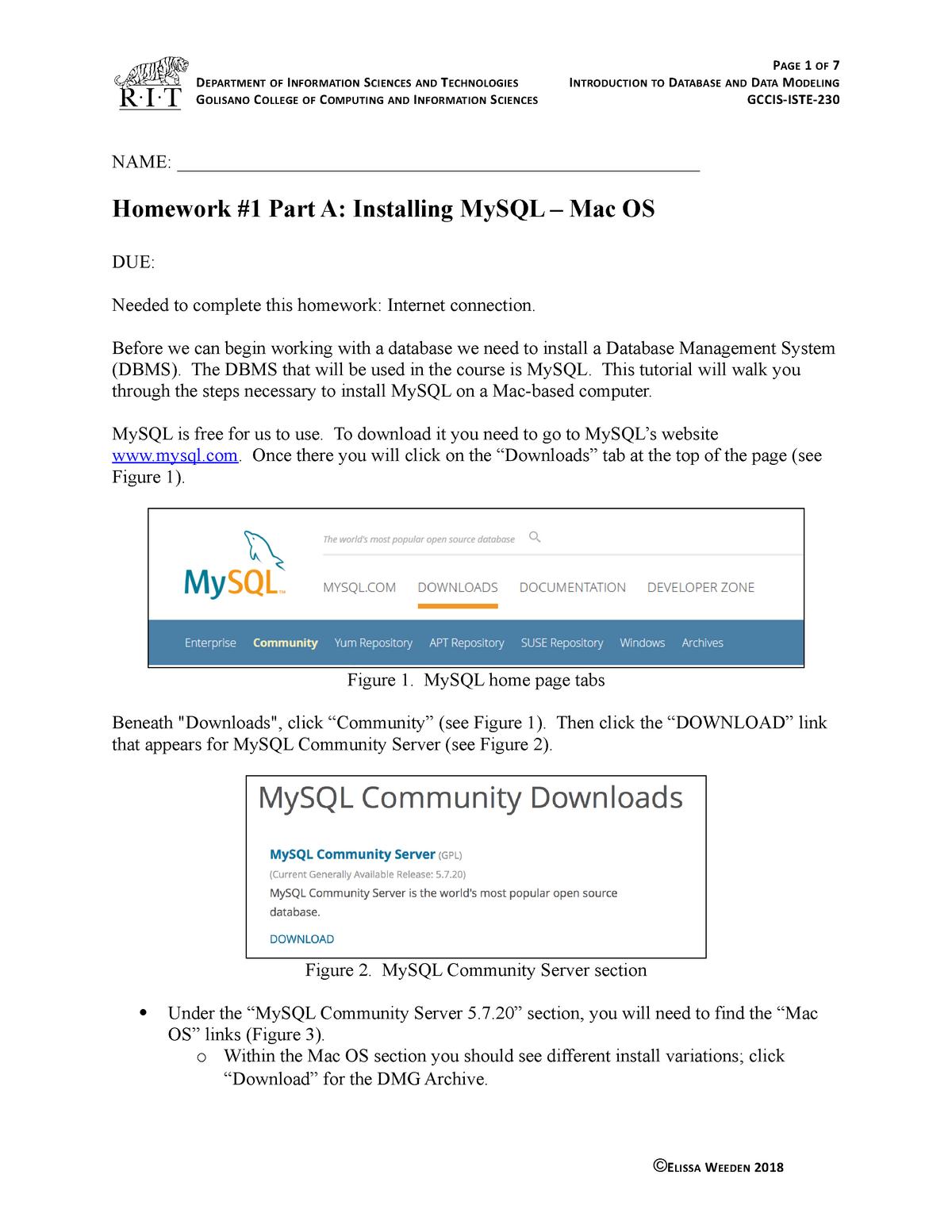 HW1 Part A Mac 2175 - HW 1 tutorial - 4002 230: Intro