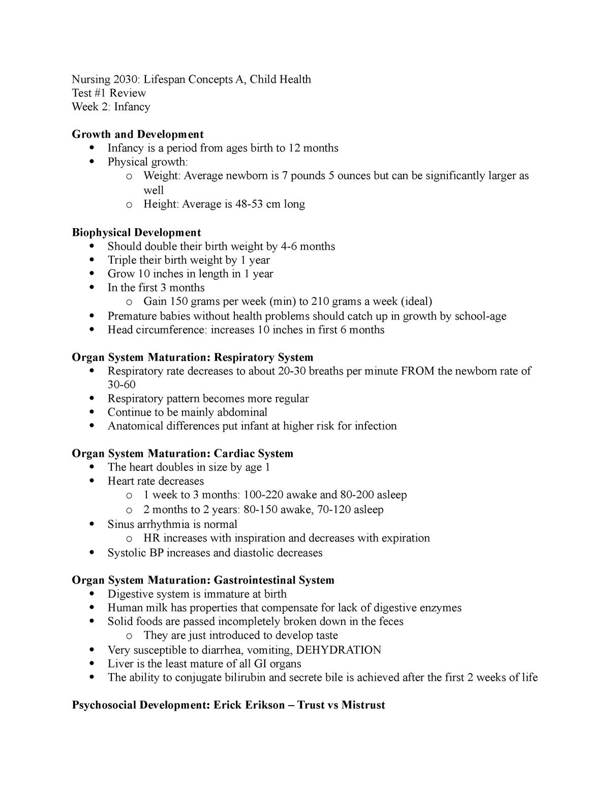 Summary NURS - 3031 NURS - 3031 01 Mar 2019 - StuDocu