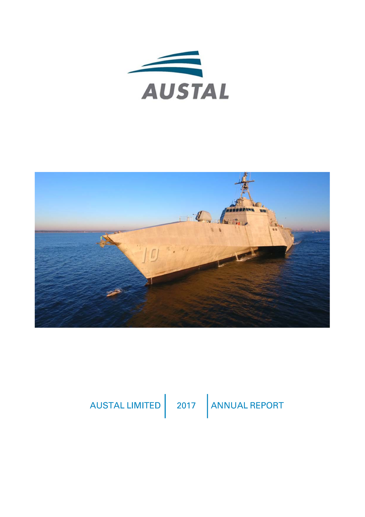 Austal FY2017 Annual Report to Shareholders - EBB638B05