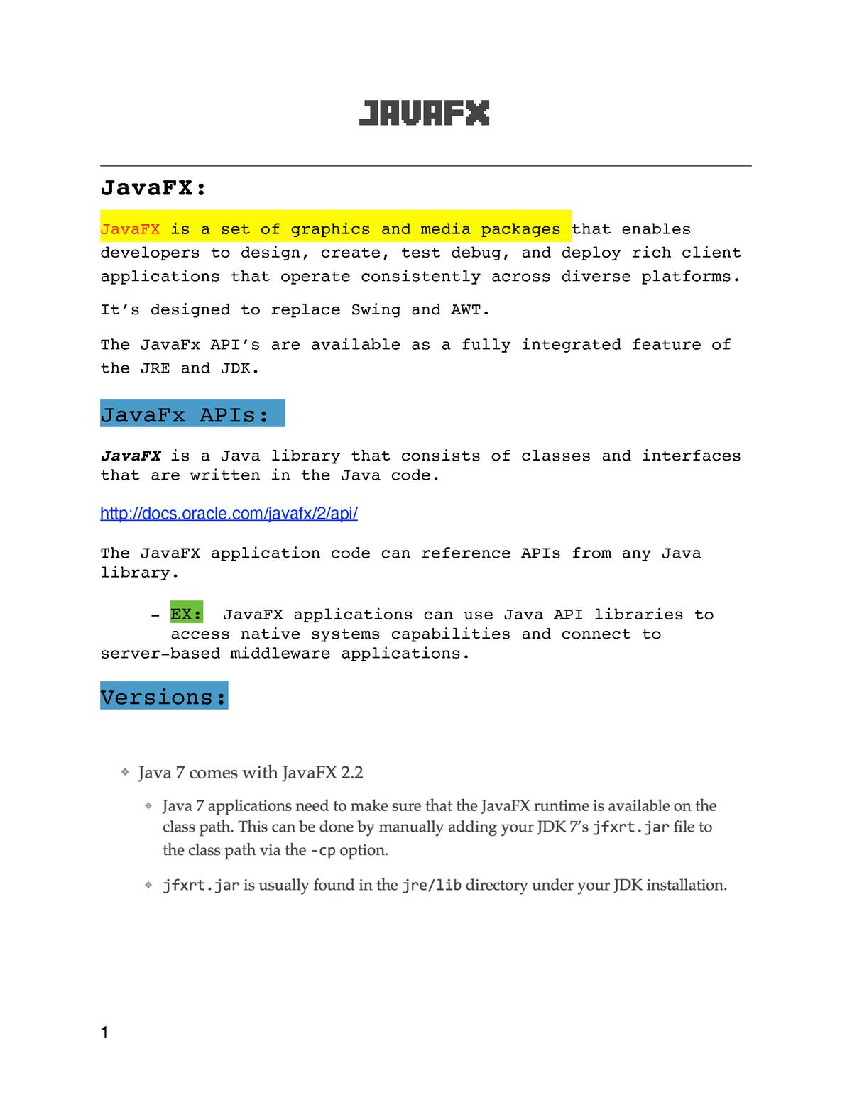 10] CSCI 1302 - Software Development (Java FX) - CSCI 1302: Soft