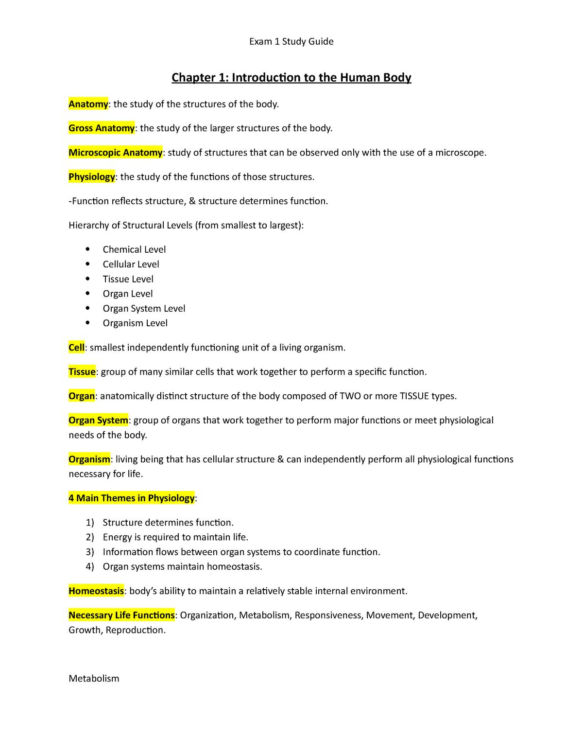 Ornithology Exam 1 Manual Guide