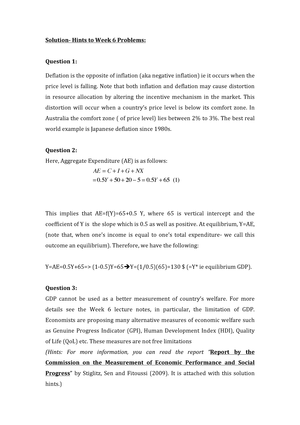 tutorial work 6 mpe781 economics for managers studocu