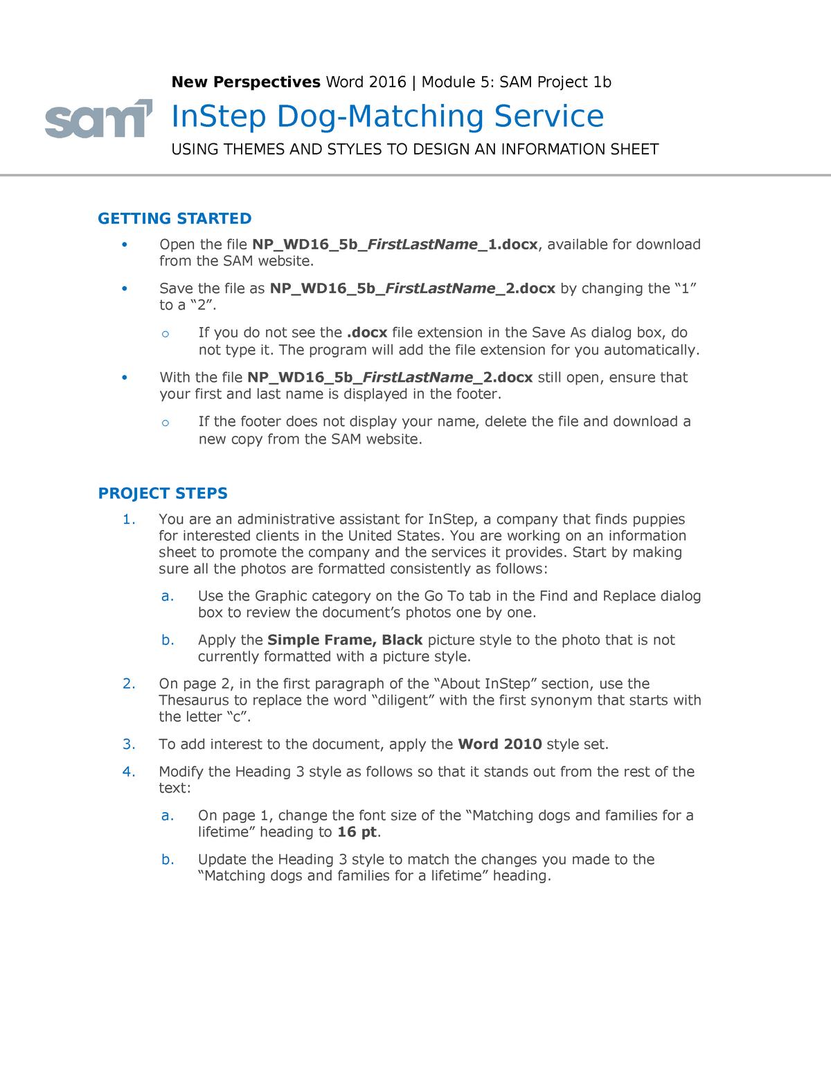 Instructions NP WD16 5b - HRMT16127: Business human