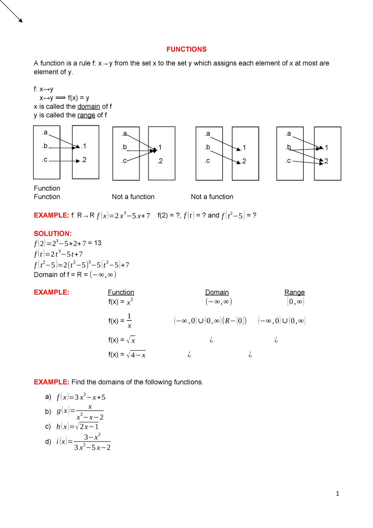 Matematik Ders C 6-7 - Summary - StuDocu