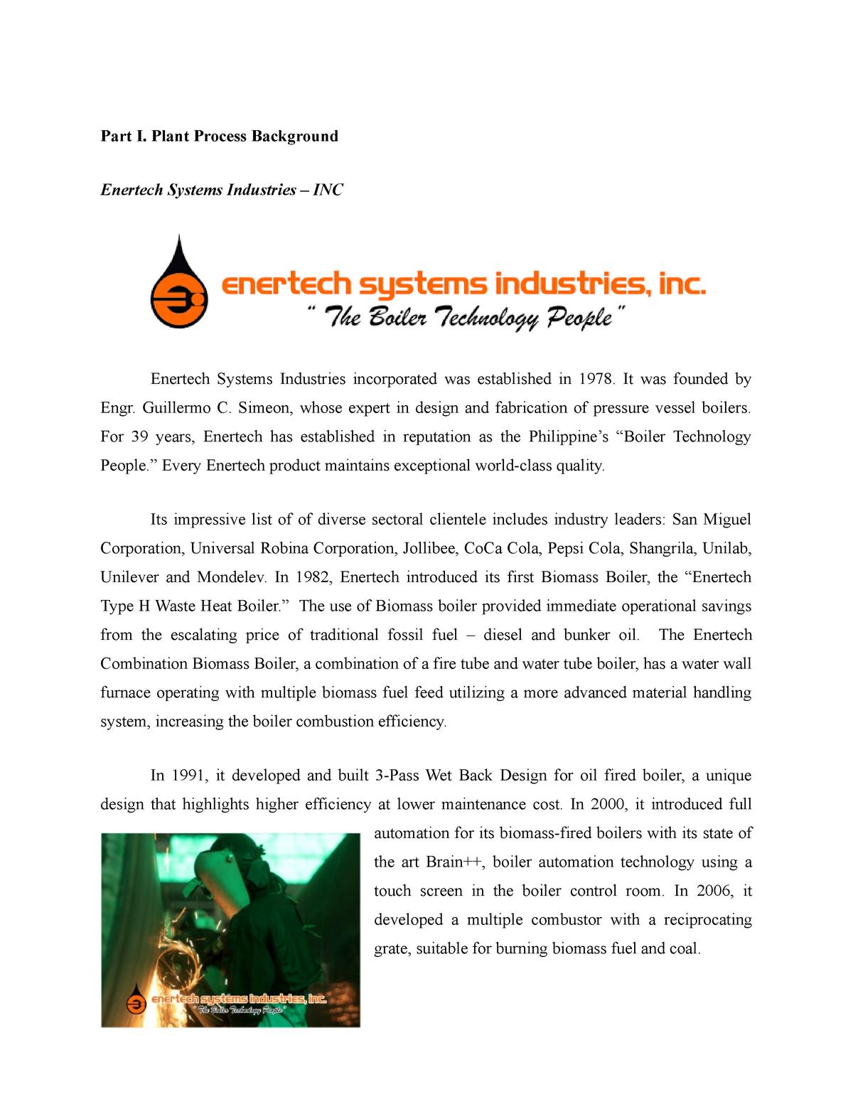 Enertech - 032797: Engineering - StuDocu