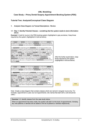 Uml tutorial two analysis class diagram with use case realisation uml tutorial two analysis class diagram with use case realisation v1 260ct software engineering studocu ccuart Image collections