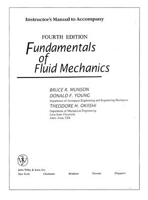 Fundimentals Of Fluid Mechanics Solution Manual Studocu