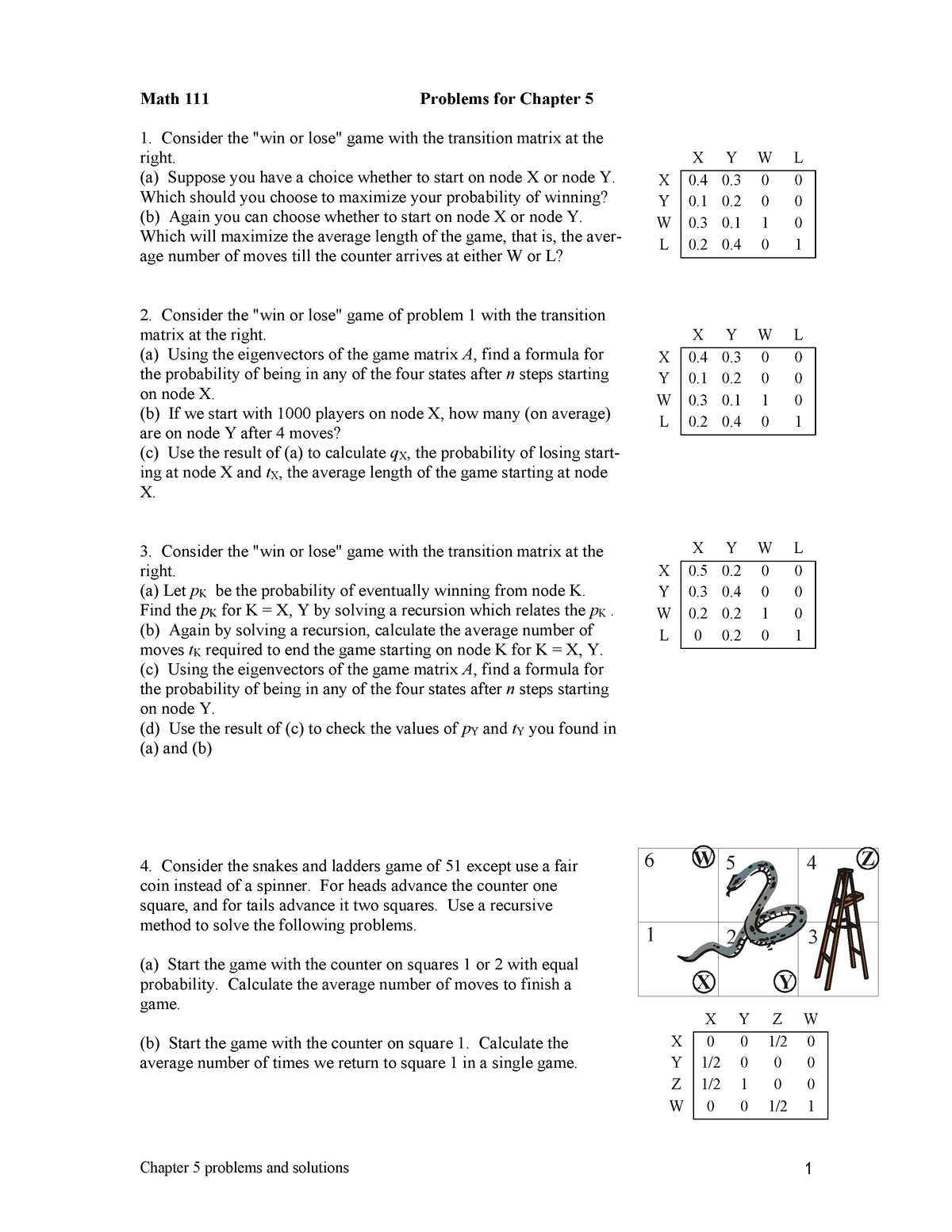 Probability Examples And Solutions