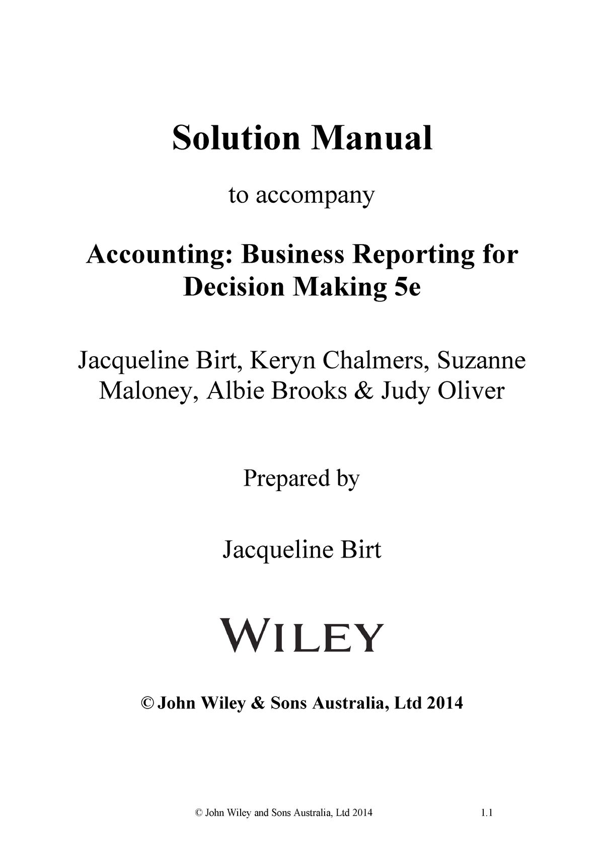 accounting business reporting for decision making 5th edition torrent