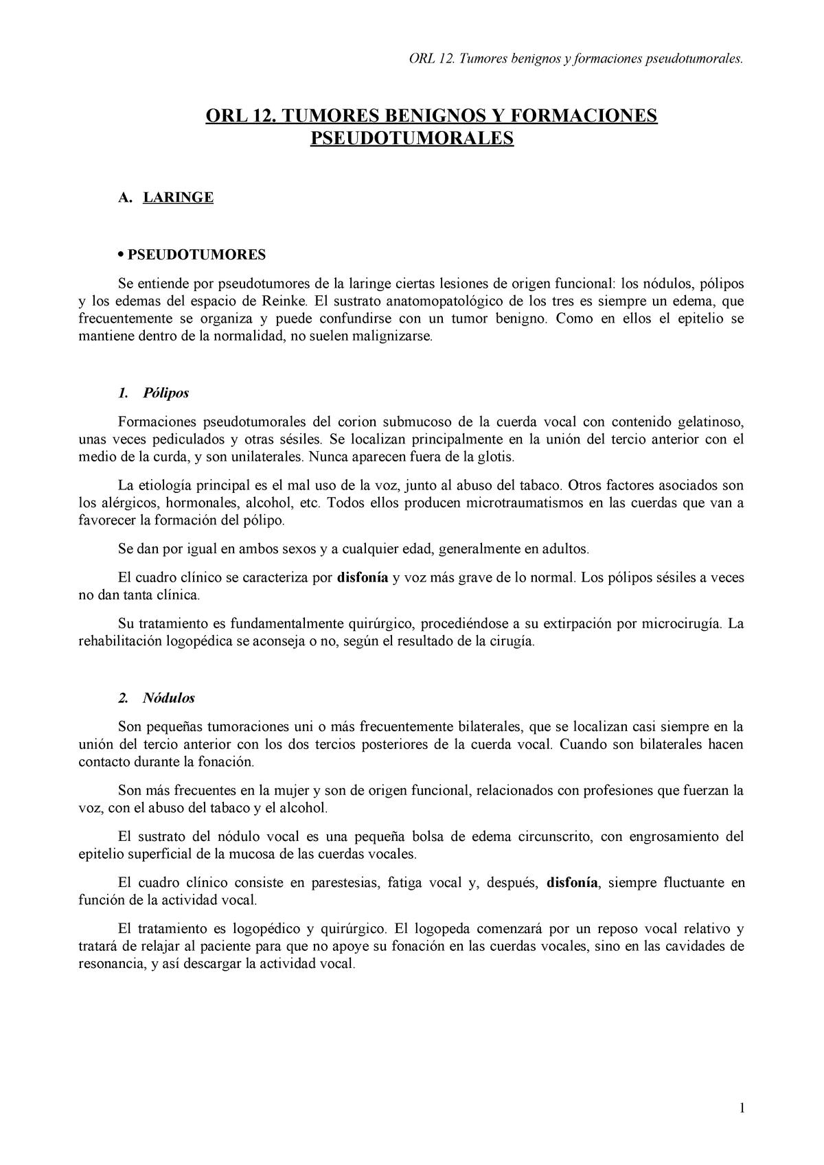 Espacio de reinke funcion