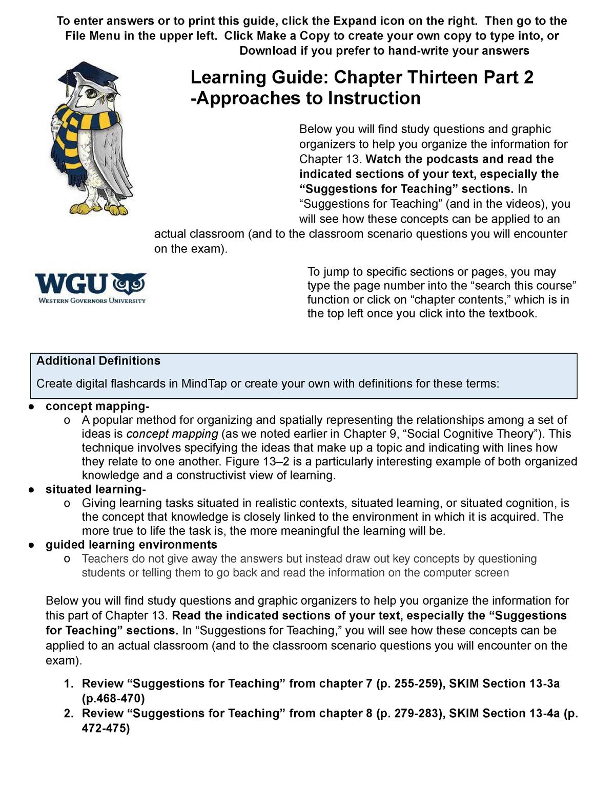 Wgu C913 Chapter 13 Learning Guide Part 2 Studocu [ 1553 x 1200 Pixel ]