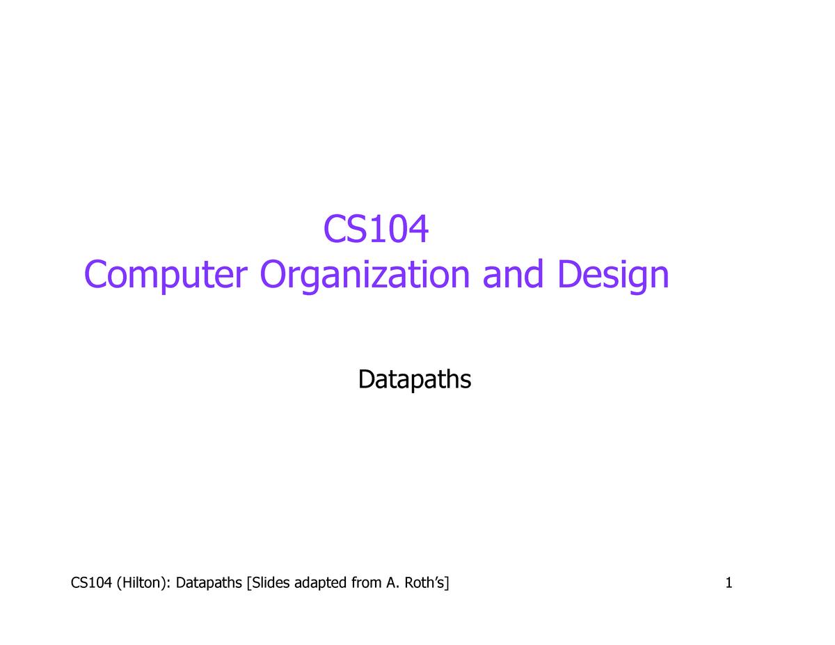 Lecture Notes Lecture 13ab Compsci 104 Duke University Studocu