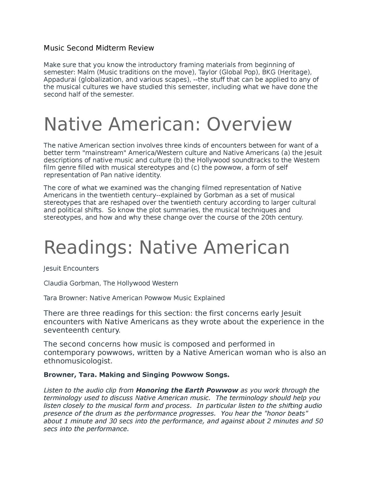 Midterm 2 Review & Lecture Notes - AFRC 050 - UPENN - StuDocu